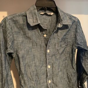Old Navy Denim Button Up